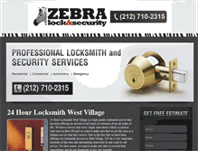 Tablet Preview of 24hourlocksmithwestvillage.net